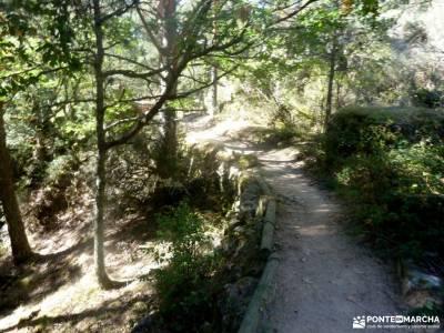 Azud y nacimiento Acueducto de Segovia; aneto ruta de las caras camino del rey malaga lavanda amigos